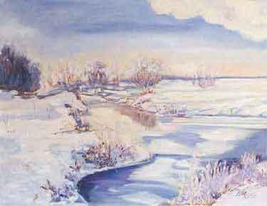 Neige à la ronce tout est silence tout est désert s installe l hiver
